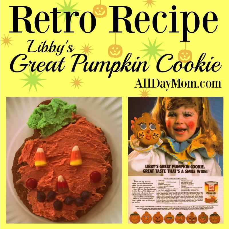 Libby's Great Pumpkin Cookie Recipe! Halloween Cookie Recipe!