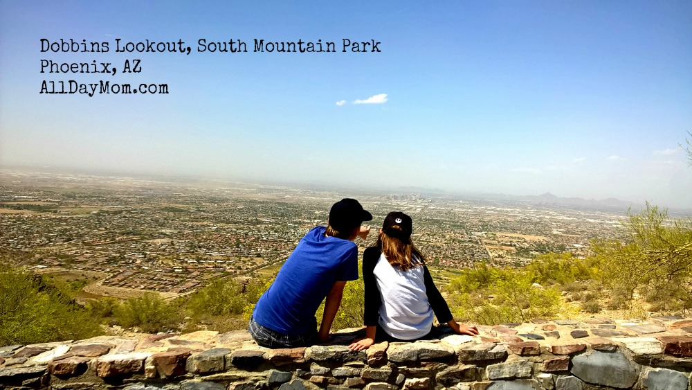 Dobbins Lookout: The Phoenix View You Can Drive To! Free things to do with kids in Phoenix!