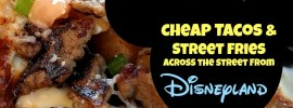 Cheap restaurant near Disneyland Jimboy's Tacos Anaheim review