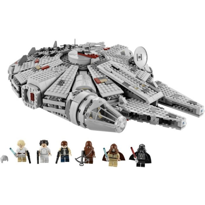 Lego Millennium Falcon Star Wars gift ideas for Dad