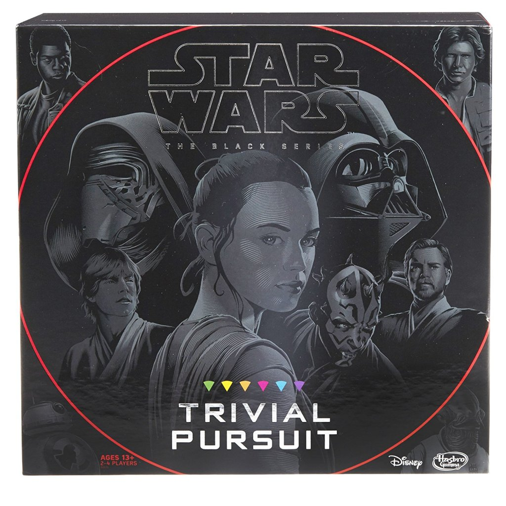 Star Wars Trivial Pursuit New Force Awakens