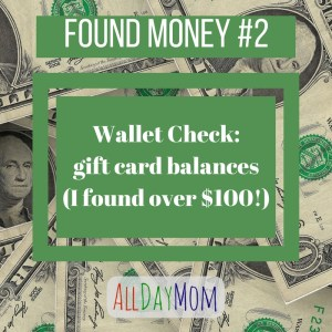 Wallet Check! Gift Card Balances (I found more than $100!) — Found Money #2