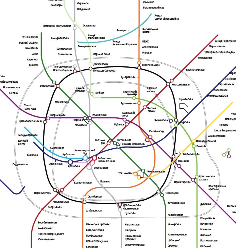 Каким будет Московское метро в 2100 году. Перспективы развития подземных лабиринтов Столицы