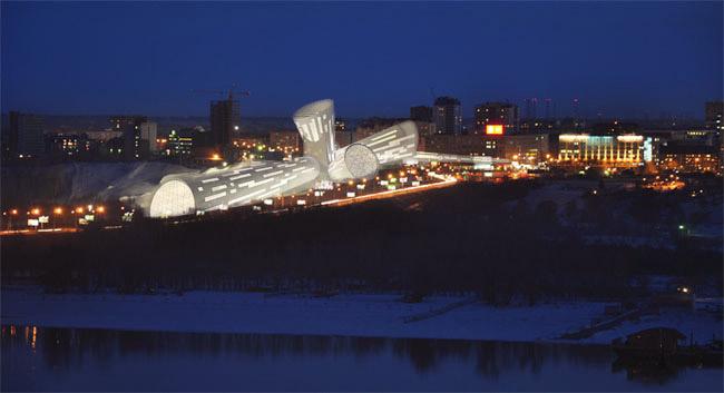 Горнолыжный комплекс «GorSkis» в Новосибирске. Проект Николая Вяткина