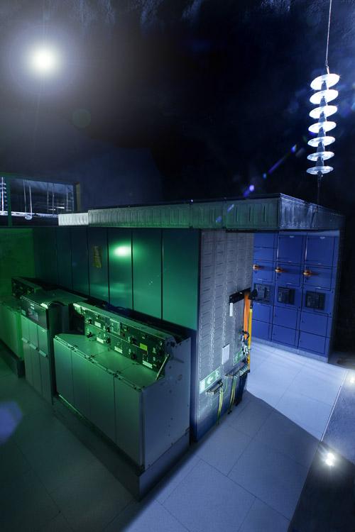 Pionen - подземный дата-центр в бункере под Стокгольмом