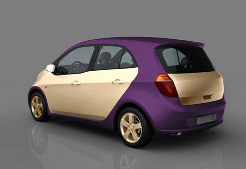 Ё-мобиль - гибридный городской автомобиль Михаила Прохорова