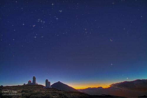 И все-таки она  вертится! Звездные танцы на астрофотографиях Даниеля Лопеза