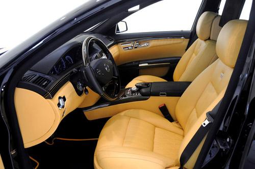 Brabus iBusiness на базе Mercedes-Benz S600. Офис на четырех колесах класса люкс