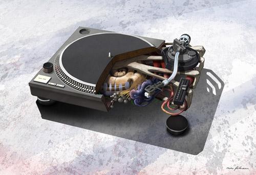 Ожившая электроника. Настоящий биомеханический арт от Mads Peitersen