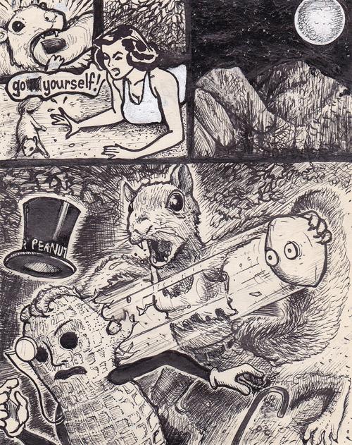 А ну-ка, дорисуй! Cамые смелые фантазии иллюстратора David Jablow