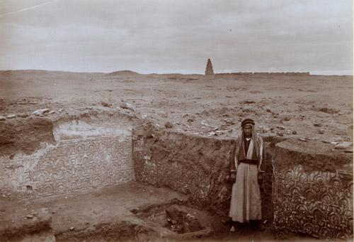 Историческая экспедиция в Междуречье. Фото начала XX века.
