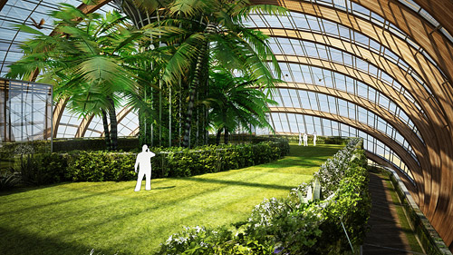 Архитектурный проект «Ковчег» Александра Ремизова. Биоклиматическое здание с автономной системой жизнеобеспечения