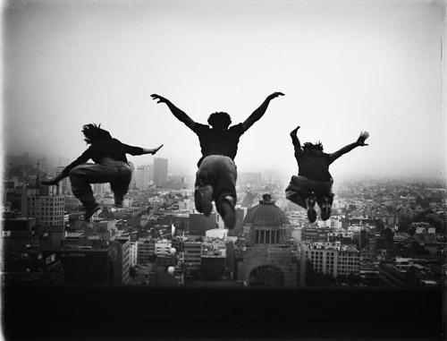 [суб]культура. Фриран / Freerunning. Свободная городская акробатика