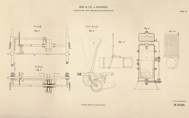 125-летие автомобиля. История первых машин и их изобретателей