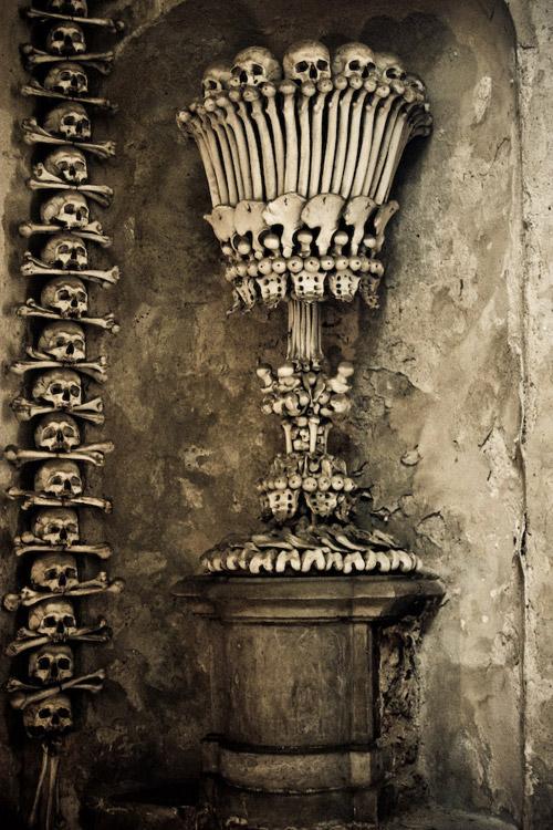 Чешская костница в Седлеце. Туристический ужастик