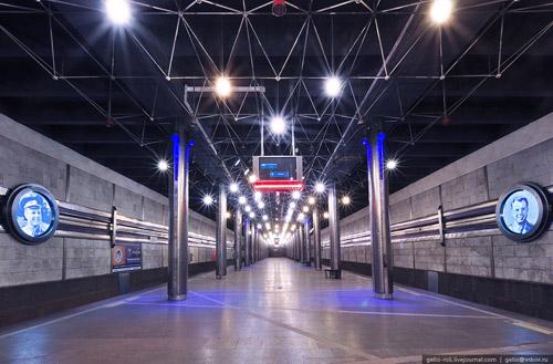 Преображение станции «Гагаринская» в Новосибирском метрополитене. Проект ко Дню Космонавтики