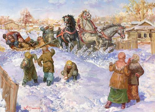 Сказания о широкой русской душе. Художник Владимир Чумаков-Орлеанский