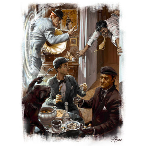 Иллюстрации из романа «Мастер и Маргарита». Ко дню рождения Михаила Булгакова