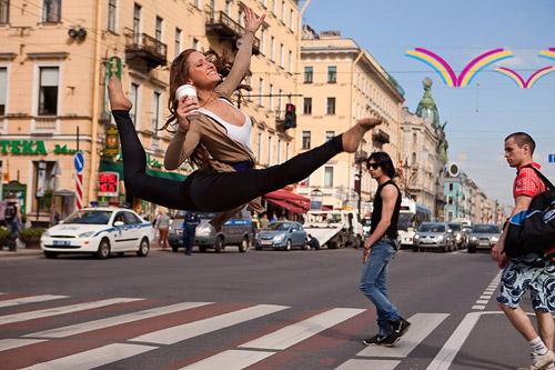 Танцующий Петербург. Фотопроект Виталия Соколовского