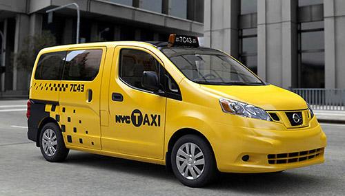 Yellow Cab. Нью-Йоркское желтое такси