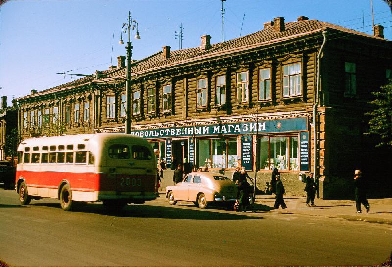 Вояж по СССР. Москва 1956. Жак Дюпакье (Jacques Dupaquier). 60 фото