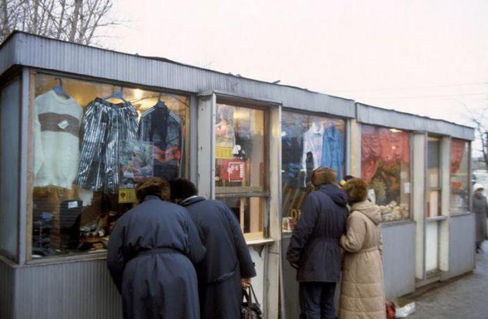 Вояж по СССР. Москва и Ленинград 1985-1990. Жак Дюпакье и др. 76 фото