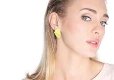 Lisa Kroeber folded kõrvarõngad