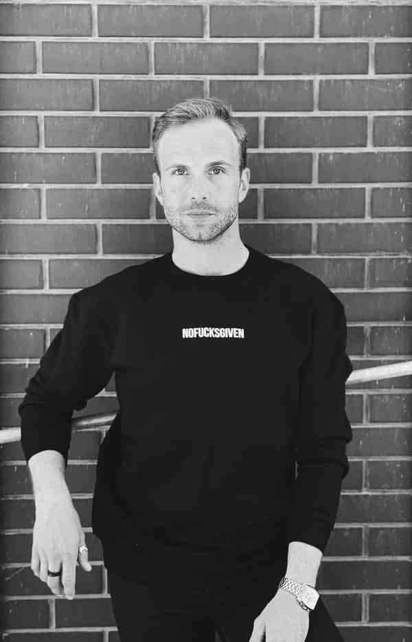NOFUCKSGIVEN black sweatshirt