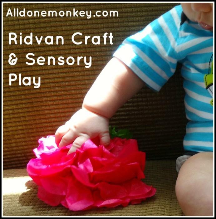 Nightingales: Ridvan Craft and Sensory Play - Alldonemonkey.com