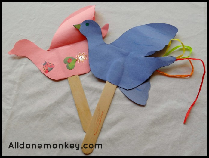 Nightingales: Ridvan Craft and Sensory Play - Alldonemonkey.com