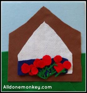 Felt Board: The Ridvan Garden - Alldonemonkey.com