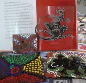 Navigating By Joy - Aboriginal Dot Painting