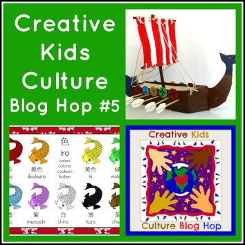 Creative Kids Culture Blog Hop #5 on Alldonemonkey.com