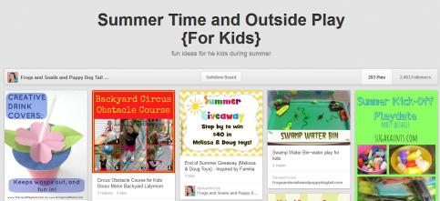 FSPDT - Summer Fun Pinterest Boards on Alldonemonkey.com