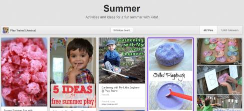 Summer Fun Pinterest Boards on Alldonemonkey.com