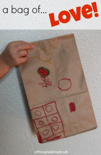 Act of Kindness for Kids--Give a bag of LOVE!