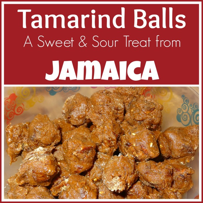 Sweet and Sour Treat from Jamaica: Tamarind Balls {Around the World in 12 Dishes} - Alldonemonkey.com