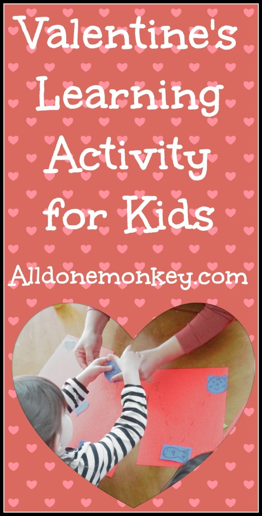 Valentine's Learning Activity for Kids - Alldonemonkey.com