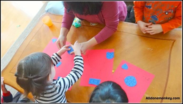 Valentine's Learning Activity for Kids - Alldonemonkey.com