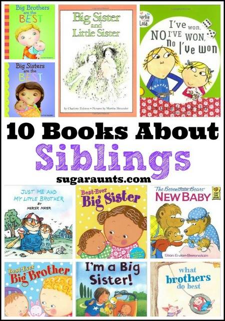 Sugar Aunts - Books About Siblings