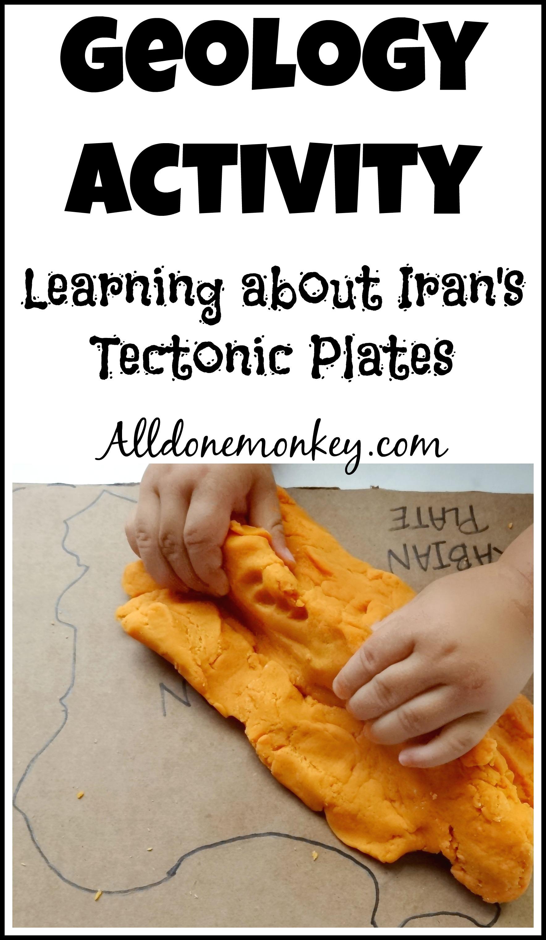 Geology Activity Iran S Tectonic Plates