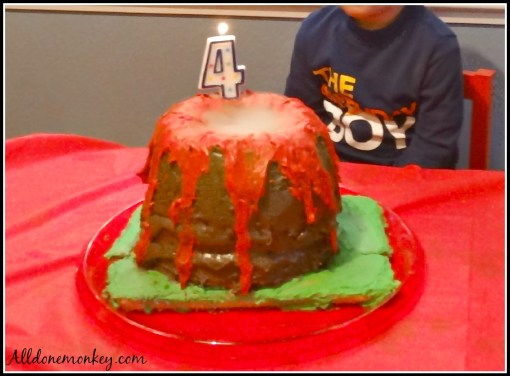 Volcano Birthday Party - Alldonemonkey.com