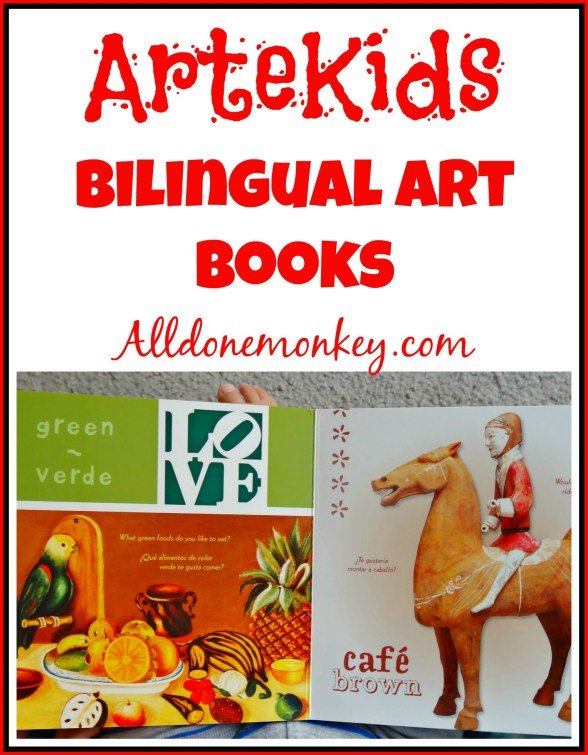 ArteKids: Bilingual Books about Art for Kids | Alldonemonkey.com