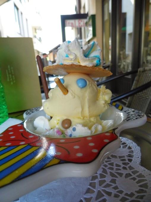 Snowman Ice Cream - La Cite des Vents