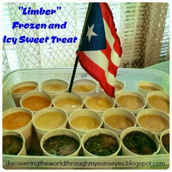 Limber - summer treat from Puerto Rico - Discovering the World Through My Son's Eyes