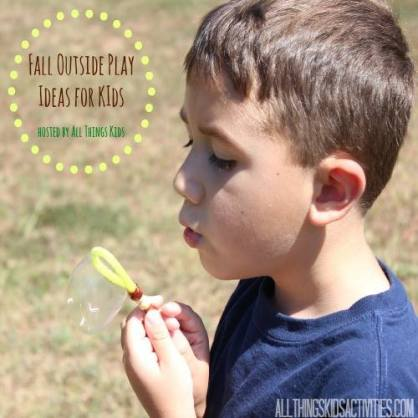 Fall Outside Play Ideas for Kids | All Things Kids