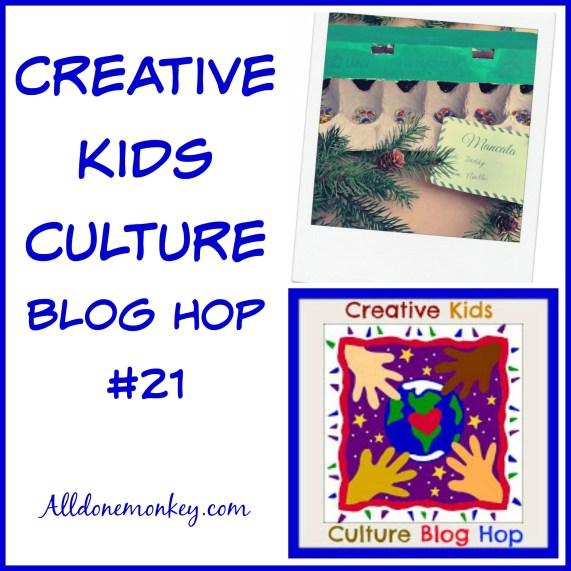 Creative Kids Culture Blog Hop #21 | Alldonemonkey.com