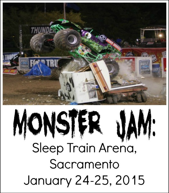 Monster Jam, Sleep Train Arena, Sacramento: This Weekend Only! January 24-25, 2015