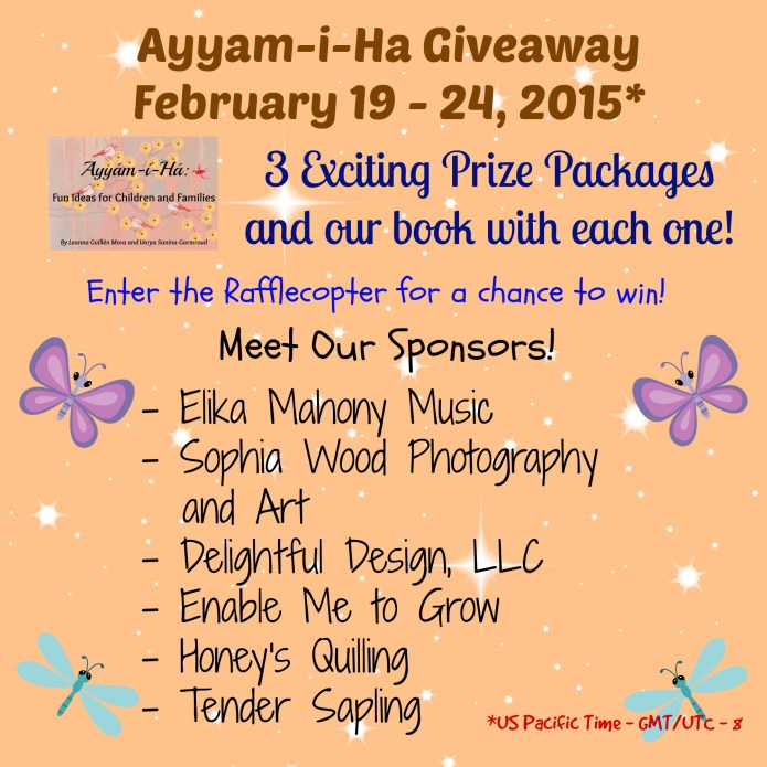 Ayyam-i-Ha Giveaway 2015