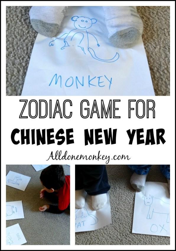 Chinese Zodiac Game for Chinese New Year | Alldonemonkey.com